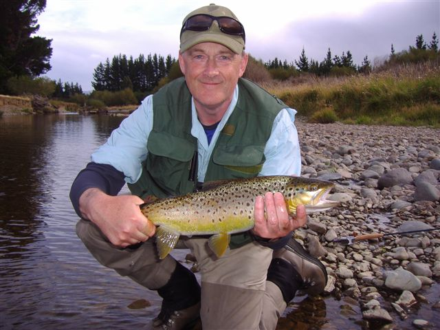 Martin Ward from the UK with a Hamilton Burn quality Brown