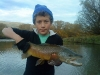 Matt Duncan\'s first Mataura brown on the dry fly !!!